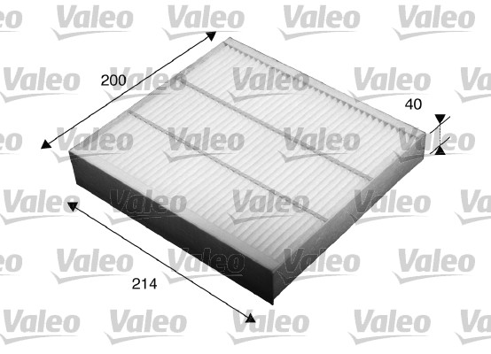 Filtre, air de l'habitacle - VALEO - 715532