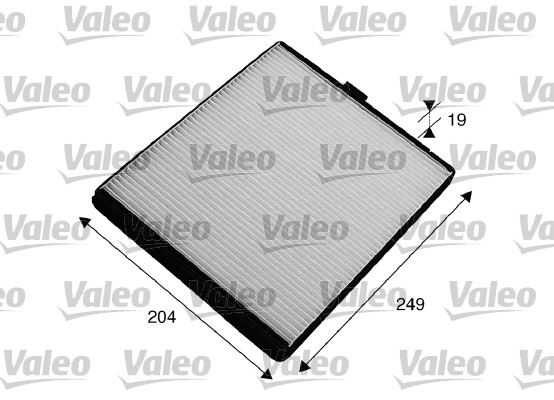 Filtre, air de l'habitacle - VALEO - 715535
