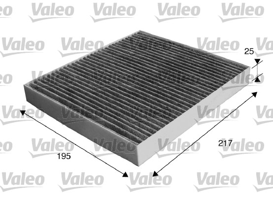 Filtre, air de l'habitacle - VALEO - 715537