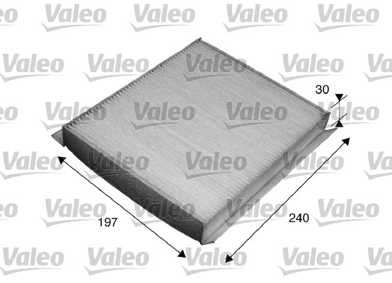 Filtre, air de l'habitacle - VALEO - 715540