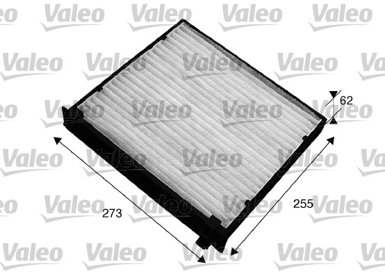 Filtre, air de l'habitacle - VALEO - 715541