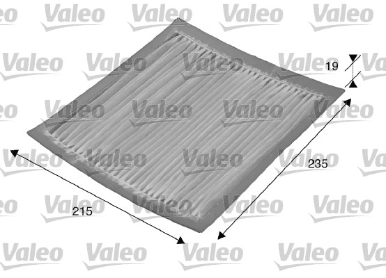Filtre, air de l'habitacle - VALEO - 715542