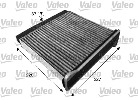 Filtre, air de l'habitacle - VALEO - 715546