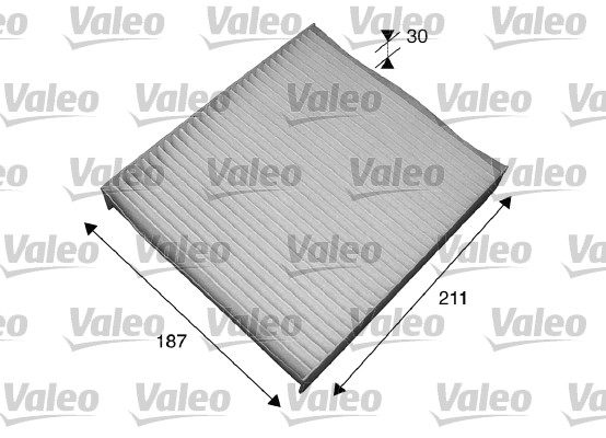 Filtre, air de l'habitacle - VALEO - 715551