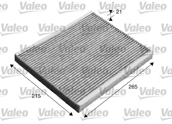 Filtre, air de l'habitacle - VALEO - 715553
