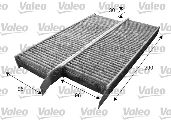 Filtre, air de l'habitacle - VALEO - 715555