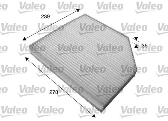 Filtre, air de l'habitacle - VALEO - 715579