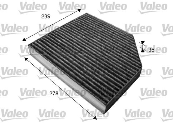 Filtre, air de l'habitacle - VALEO - 715580