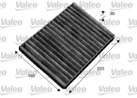 Filtre, air de l'habitacle - VALEO - 715582