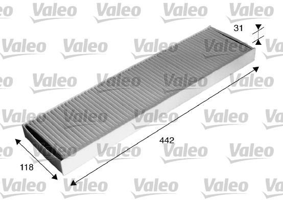 Filtre, air de l'habitacle - VALEO - 715585