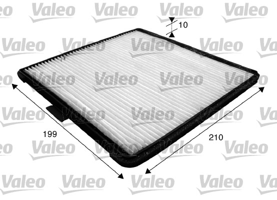 Filtre, air de l'habitacle - VALEO - 715588