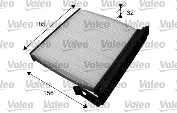 Filtre, air de l'habitacle - VALEO - 715590