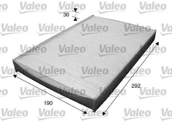 Filtre, air de l'habitacle - VALEO - 715595