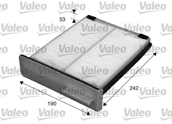 Filtre, air de l'habitacle - VALEO - 715599