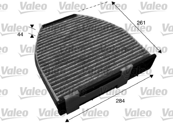 Filtre, air de l'habitacle - VALEO - 715600