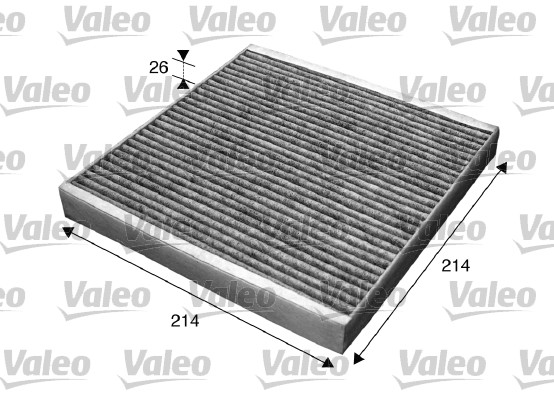 Filtre, air de l'habitacle - VALEO - 715608