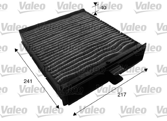 Filtre, air de l'habitacle - VALEO - 715610