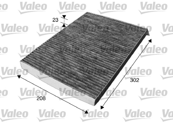 Filtre, air de l'habitacle - VALEO - 715611