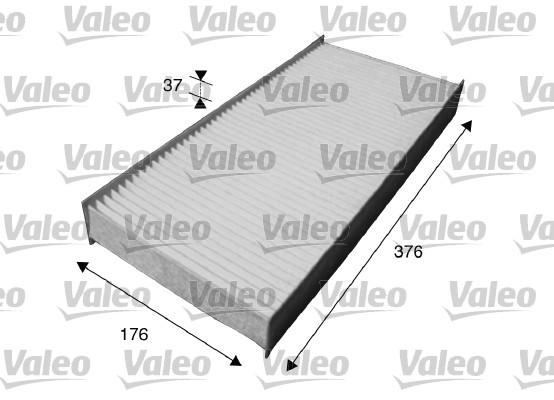 Filtre, air de l'habitacle - VALEO - 715614