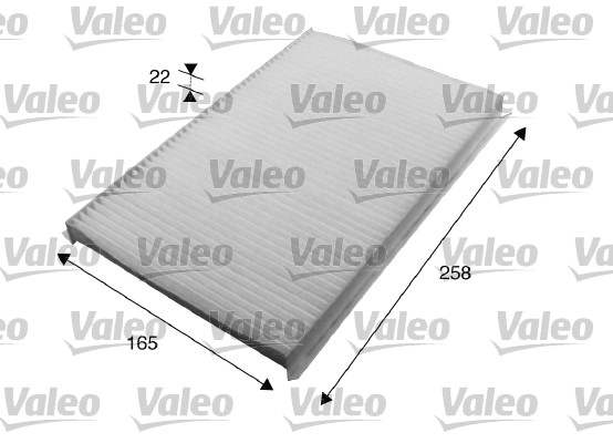 Filtre, air de l'habitacle - VALEO - 715615