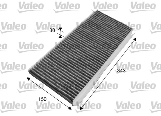 Filtre, air de l'habitacle - VALEO - 715617