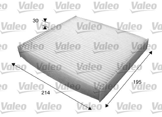 Filtre, air de l'habitacle - VALEO - 715620