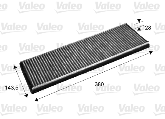 Filtre, air de l'habitacle - VALEO - 715632