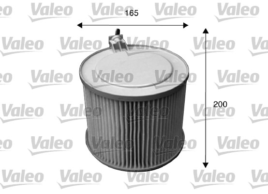 Filtre, air de l'habitacle - VALEO - 715633