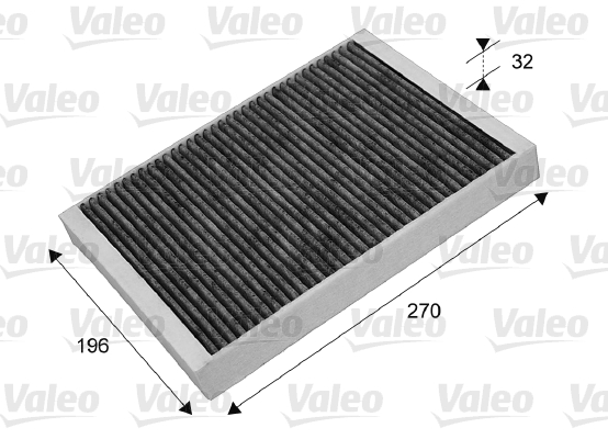 Filtre, air de l'habitacle - VALEO - 715635