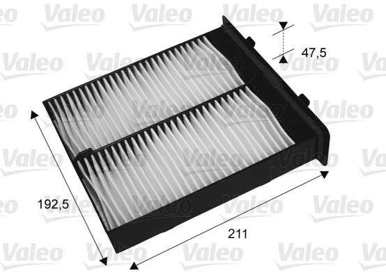 Filtre, air de l'habitacle - VALEO - 715652