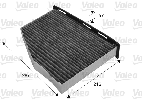 Filtre, air de l'habitacle - VALEO - 715665