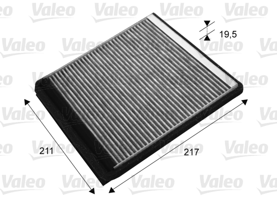 Filtre, air de l'habitacle - VALEO - 715677