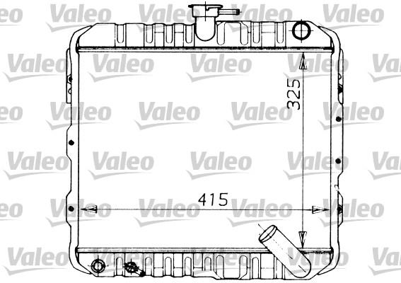 Radiateur, refroidissement du moteur - VALEO - 730446