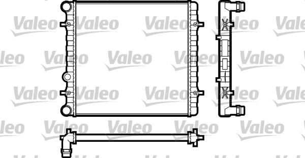 Radiateur, refroidissement du moteur - VALEO - 731606