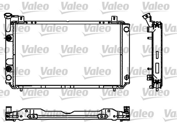 Radiateur, refroidissement du moteur - VALEO - 731661