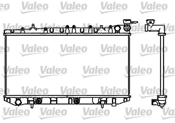 Radiateur, refroidissement du moteur - VALEO - 731662