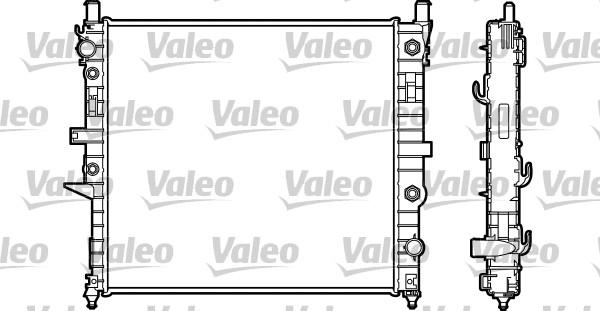 Radiateur, refroidissement du moteur - VALEO - 732315