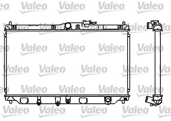 Radiateur, refroidissement du moteur - VALEO - 732323