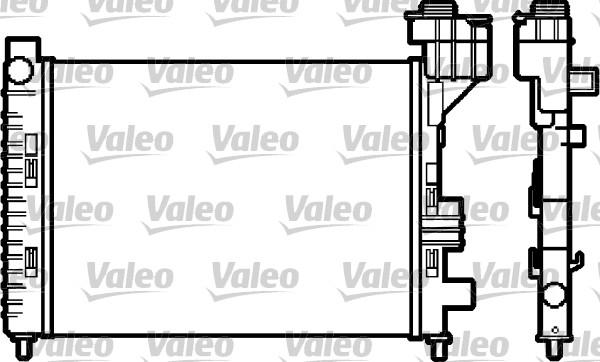 Radiateur, refroidissement du moteur - VALEO - 732588