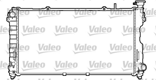 Radiateur, refroidissement du moteur - VALEO - 732756