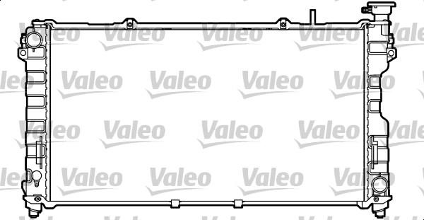 Radiateur, refroidissement du moteur - VALEO - 732757