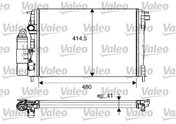 Module de refroidissement - VALEO - 733075
