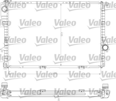 Radiateur, refroidissement du moteur - VALEO - 734277