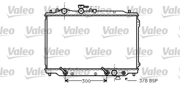 Radiateur, refroidissement du moteur - VALEO - 734581