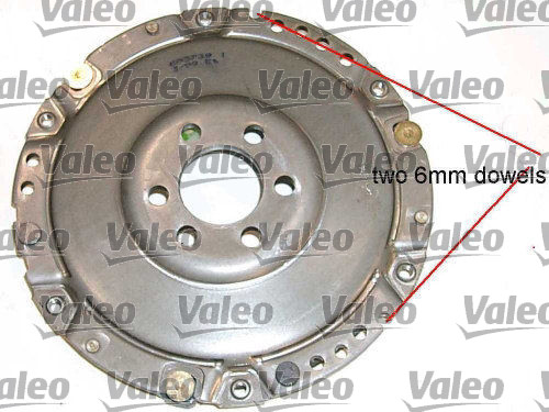 Kit d'embrayage - VALEO - 801205