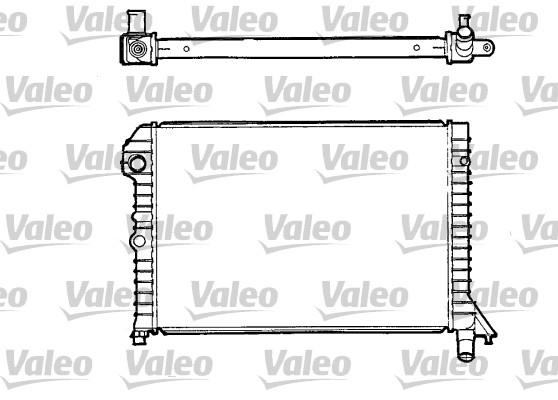 Radiateur, refroidissement du moteur - VALEO - 810957