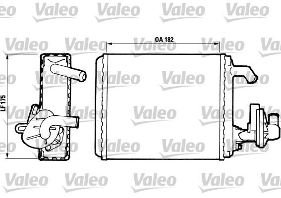 Système de chauffage - VALEO - 811065