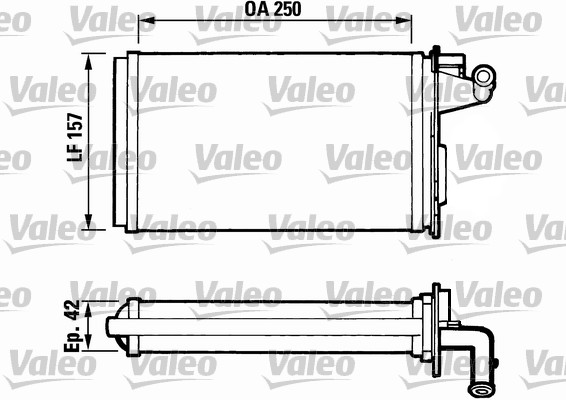 Système de chauffage - VALEO - 811075