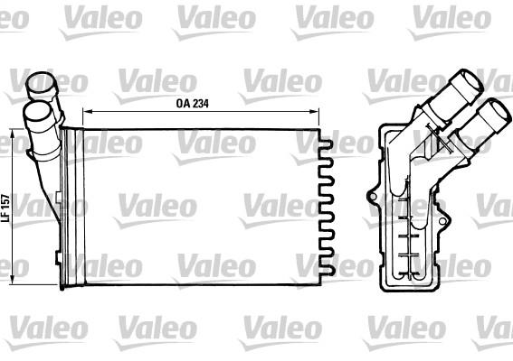 Système de chauffage - VALEO - 812005