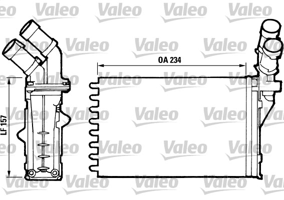 Système de chauffage - VALEO - 812006
